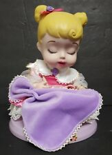 DISNEY PRINCESS ROYAL NURSERY AURORA PORCELAIN DOLL  Brass Key