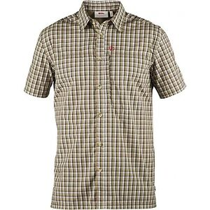 Fjäll Räven Svante Shirt Comfort, short-Sleeved, Sand, Function Shirt, Size S