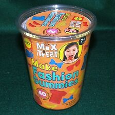 ALEX Mix a Treat Make Your Own Fashion Gummies Candy Kit in Fashion Shapes