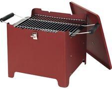tepro 1143 Cube Barbecue à charbon à de bois chill&grill rouge bac Parc