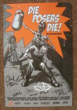 Die Posers Die! Skateboard Poster Print signed by 9 Jay Adams Tony Alva Dogtown