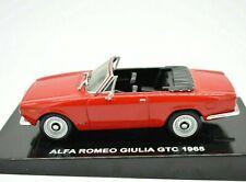 MODELLINO AUTO ALFA ROMEO GIULIA GTC CABRIO SCALA 1/43 DIECAST MODELLISMO EPOCA
