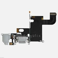 Charging Charger Port Dock Headphone Jack Mic Grey Gray Flex Cable for Iphone 6