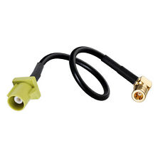 Fakra K Male to SMB Plug (Jack) Antenna Extension Adapter Cable 1m for Sirius XM