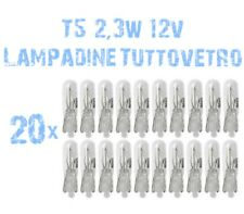 N° 20 Bulbs Glass 2.3W 12V for Headlights Angel Eyes DEPO FK Opel Astra H 2B5 2B
