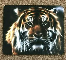 mouse pad Tiger head desktop laptop mouse mat quality 5 MM thick made in UK