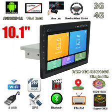 "1 Din Adjustable Android 8.1 10.1"" Quad-core RAM 1GB ROM 16GB Car Stereo Radio"