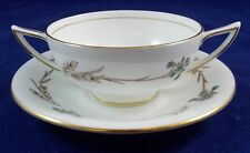 Minton GLENGARRY Cream Soup and Saucer Set S687 LIGHTLY USED GOOD CONDITION