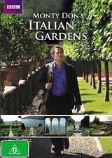 Monty Don's Italian Gardens (DVD, 2012, 2-Disc Set) LIKE NEW FREE FAST POST R4