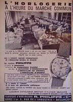 PUBLICITÉ MONTRE PHILIPPE HORLOGERIE 3 DERNIERS CONCOURS CHRONOMÉTRIQUES