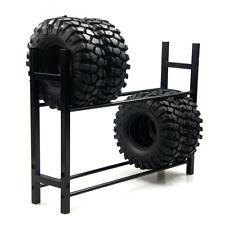 1 set Black Truck Tyre Rack Shelf for 1/10 Wheel Rims Tire RC4WD SCX10 D90 CC01