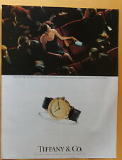Tiffany & Co. Tiffany Atlas  Watch -- Magazine  Print Ad 1998 --
