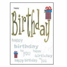 Birthday Card with Envelope - Lets Party Range - LP5004