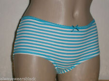 Cotton Striped Petite Everyday Knickers for Women