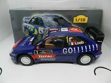 RALLY COLECCION ALTAYA ESCALA 1/18 CITROEN XSARA WRC