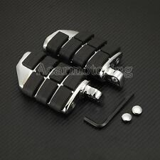 Motorcycle Highway Foot Rest Male Mount Peg For Harley-Davidson Touring Chrome