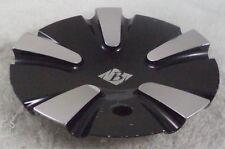 Bazo Wheels Chrome / Gloss Black Custom Wheel Center Cap # C-VB3-C / SJ710-03