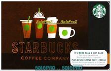 STARBUCKS 2017 COFFEE COMPANY ESPRESSO CAPPUCCINO RARE COLLECTIBLE GIFT CARD