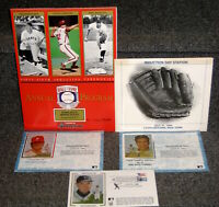 1994 HALL OF FAME INDUCTION PROGRAM & 1ST DAY COVERS RIZZUTO CARLTON DUROCHER