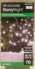 NEW - Gemmy Lightshow 70 LED Cool White Starry Night Christmas Net Light