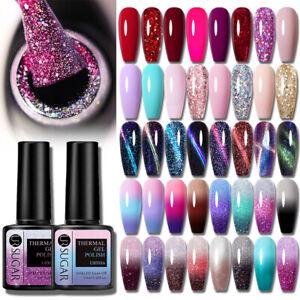UR SUGAR Gel Nail Polish Hybrid Varnish Gels Manicure Thermal Magnetic Nail Art