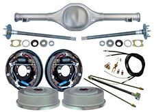 """CURRIE 82-97 S-10 & BLAZER REAR END & 11"""" DRUM BRAKES,LINES,PARKING CABLES,AXLES"""