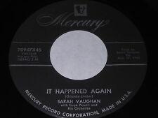 Sarah Vaughan: It Happened Again / I Wanna Play House 45