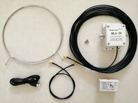 MLA-30 100kHz - 30MHz ring active receive antenna, low noise medium short  wave
