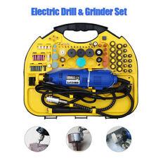 Multi Purpose Rotary Tool Set Mini Drill Grinder Engraver Sander Polisher 211pcs
