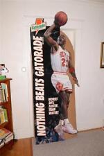 1993 Vtg MICHAEL JORDAN Life Size GATORADE Advertising CARDBOARD Cut-Out DISPLAY