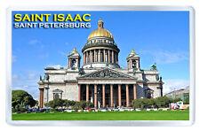 SAINT ISAAC CATHEDRAL SAINT PETERSBURG RUSSIA FRIDGE MAGNET SOUVENIR IMAN NEVERA