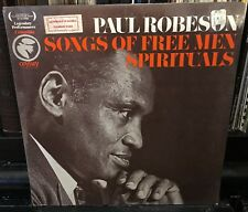 sealed PAUL ROBESON  Songs Of Free Men-Spirituals ODYSSEY 32 16 0268