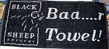 Black Sheep Brewery Cotton Bar Towel 525mm x 250mm (pp)