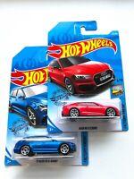 Hot Wheels SET OF 2 AUDI RS 5 COUPE + AUDI RS 6 AVANT Factory Fresh Diecast