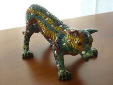 Spielender HUND / SCHÄFERHUND - ORIGINAL BARCINO DESIGNS  Tierfigur Gaudi Mosaik