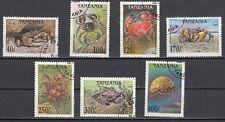 Tansania 1923 - 1929 gestempelt Krebstiere