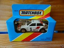 Matchbox Audi Diecast Vehicles
