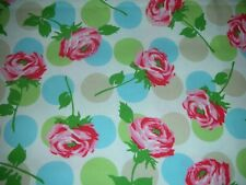 "Cath Kidston MTO curtains 90"" drop Bubble Rose & Spot NEW VERY RARE"