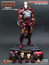 1/6 Hot Toys Exclusive 9005511 Iron Man Mark III 3 Battle Damaged Version NEW