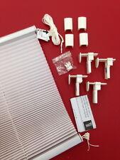 Klemmfix Plissee Verspannt Standard mit Klemmhalter Rollo für Fenster und Tür