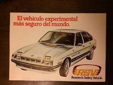 Catalogo Automóvil Chrysler RSV