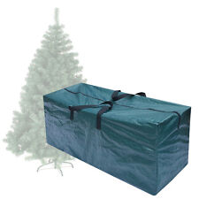 Heavy Duty Large Christmas Tree Storage Bag For Clean Up Holiday Green Up to 8ft