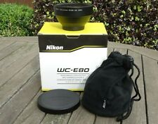 New Nikon WC-E80 Wide Angle Converter - For Coolpix 8700 / 5700 / 5400