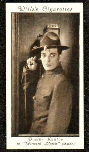 1931 WILLS CINEMA STARS 3rd SERIES BUSTER KEATON CIGARETTE CARD NRMINT/ MINT