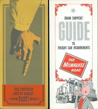 Milwaukee Road Grain Shippers Guide +TOFC Piggy Back Plan and Ramp locations