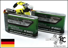 2x Turnigy nano-tech 750mAh 1S 35-70C NEU Lipo Akku 3,7V Nine Eagles Solo Pro180