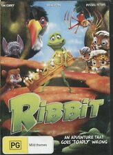 RIBBIT -  Sean Astin, Tim Curry, Russell Peters - DVD
