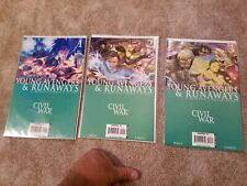 Young Avengers & Runaways - Civil War  #1 - #3 (Lot of 3) - Marvel comic book