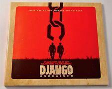 Django Unchained ~ Movie ~ Film Soundtrack ~ NEW CD Album ~ Digipak Tarantino