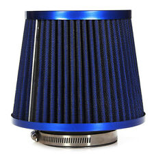 Universal Car Air Filter Vehicle Induction Kit High Power Mesh Blue Finish Sp WS